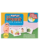 Krazy Hindi Alphabets - Barakhadi Flash Cards With Ring