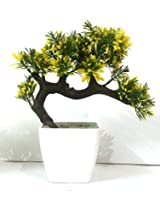 HYPERBOLE Bonsai Wild Plant Artificial Plant with Pot