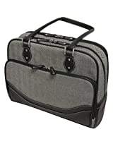 Mobile Edge Classic Herringbone Tote (large) for 16-Inch PC/17-Inch Mac fits all iPad generations including iPad4