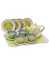 Children's Tin Tea Set in a Case