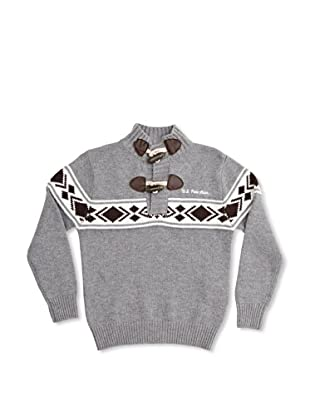 US Polo Assn Jersey Junior Omer Turtle (Gris Medio)