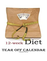 12-week Diet 2015 Calendar