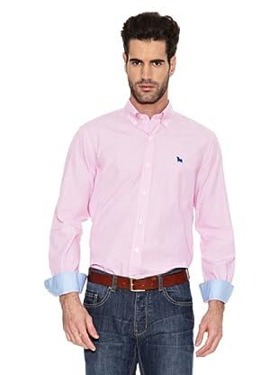 Toro Camisa Rayas Vestir (Rosa)