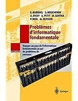 Problèmes d'informatique fondamentale: Voyages au pays de l'informatique fondamentale au gré de problèmes de concours (SCOPOS)