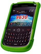 Cellet Green Rubberized Proguard For Blackberry 9630 Niagra