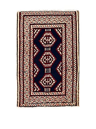 RugSense Alfombra Persian Kalat Azul/Rojo/Beige 83 x 58 cm