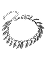 Fayon Weekend Party Silver Leaves Bracelet