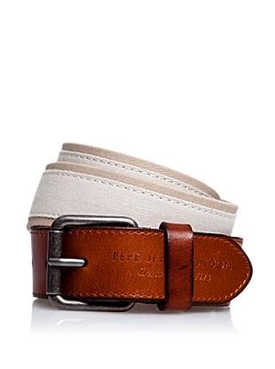 Pepe Jeans London Cinturón Marvin (Crudo)