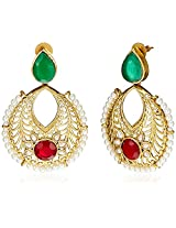 Ava Traditional Drop Earrings for Women (Multicolour) (E-SD-1152)