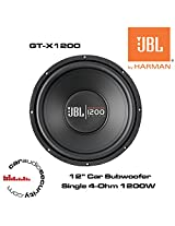 JBL GT-X1200 CAR AUDIO SUBWOOFER