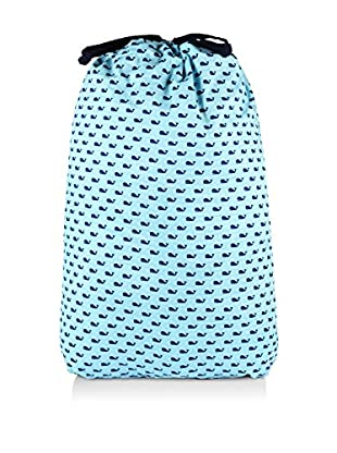 Malabar Bay Whales Laundry Bag, Blue