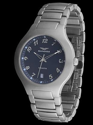 Sandoz 81207-03 - Reloj de Caballero metálico