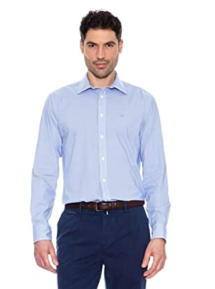 Pedro del Hierro Camisa Print (Celeste)