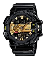 Casio G-Shock Bluetooth Bluetooth Analog-Digital Black Dial Men's Watch - GBA-400-1A9DR (G557)