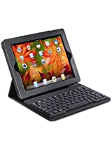Accessory Workshop TY-109 tyPad 2 PU Bluetooth Keyboard Case for iPad 2 Leather