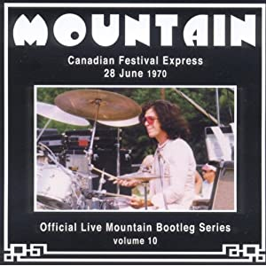 Live on the Canadian Festival Express 1970