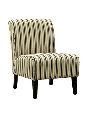 Armen Living Bento Cozumel Fabric Club Chair, Navy