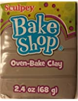 Sculpey Bake Shop Oven Bake Clay (Gray)