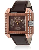Baywatch Quartz Analogue BROWN Dial Men's Watch - G1021 BROWN-BROWN