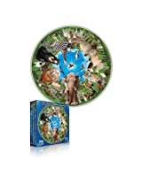 Round Table Puzzle Collection Animal Arena