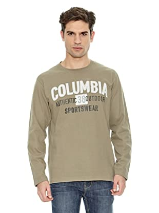Columbia Camiseta Fremont Long Sleeve Tee (Marrón)
