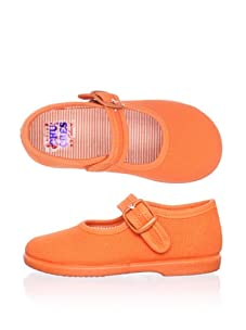 Chuches Kid's Mary Jane (Orange)