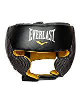 Everlast Evercool Headgear (Black/Grey)