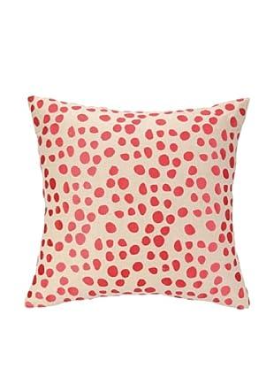 Iza Pearl Pebble Parade Pillow, Pink