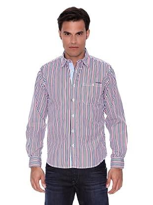 Pepe Jeans London Camisa Mayfair (Azul / Rojo / Blanco)