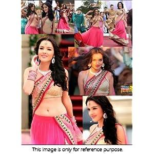 Bollywood Replica Yamla Pagla Net Lehenga In Pink Colour NC170