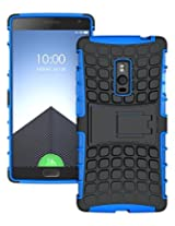 HIGAR Dual Layer Armor Protector Pouch Hard Case Cover For OnePlus Two / OnePlus 2 With Higar Retail Box - Blue