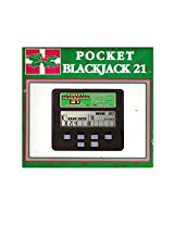 1992 Radica Pocket Blackjack 21 LCD Handheld No. 016-9-101