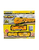 ToyTree Battery Operated Super Contruction Electric Classical Train Set - 13 pcs