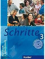 Schritte: Kurs- Und Arbeitsbuch 3 MIT CD Zum Arbeitsbuch