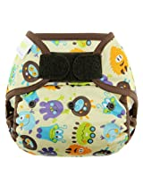 Blueberry Basix All in One Diapers, Monsters, Large