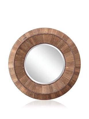 Cooper Classics Andrea Mirror, Natural Rustic Wood