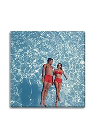Photos.Com By Getty Images Young Couple Swimming By Tom Kelley On Canvas