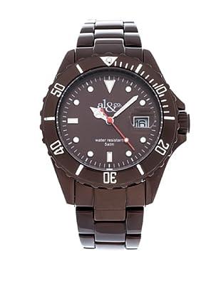 al&co Reloj Alluminium Marrón