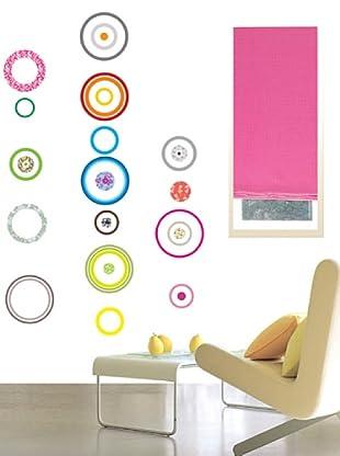 Vinilo Círculos diseños multicolores Multicolores