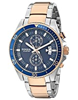 Fossil Wakefield Analog Blue Dial Men's Watch - CH2954