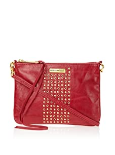 Rebecca Minkoff Women's Rockette Leather Clutch (Red Shine)