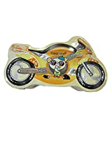 DCS Kids Metal Motor Bike Coin Box