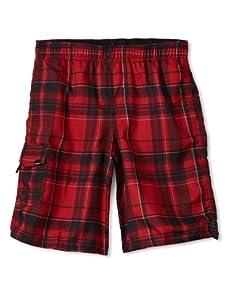 O'Neill Boy's 8-20 Santa Cruz Volley Shorts (Red)