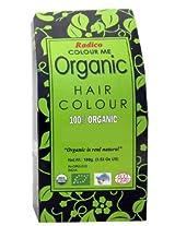 Radico Colour Me Organic Burgundy 100 gm (USDA Certified)