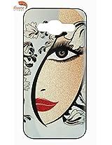 Vcare Shoppe Printed Sparkel Effect Back case cover for Samsung Galaxy J3 (Sparkel Effect)
