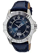 Seiko Lord Analog Blue Dial Men's Watch - SUR133P1