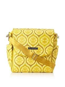 Petunia Pickle Bottom Women's Boxy Backpack Diaper Bag (Sunshine in Sardinia)