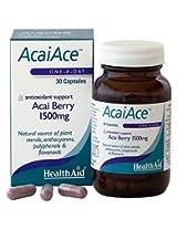 HealthAid Acai Ace 1500 mg - 30 Capsules (Acai Berry)