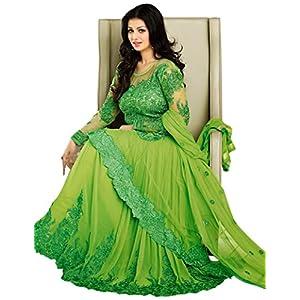 Ayesha Takia Parrot Floor Length Anarkali Suit
