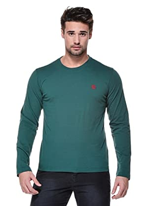 Timberland Camiseta Back Logo (Verde)